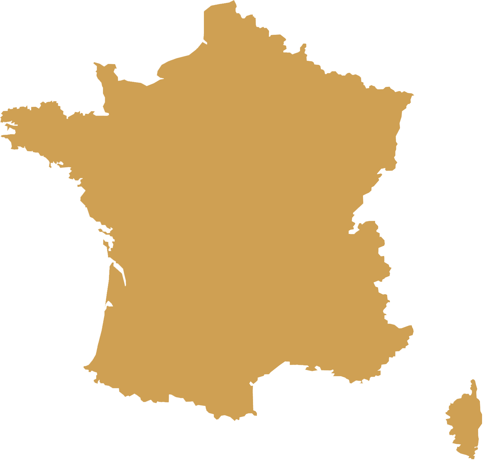 DMC France map