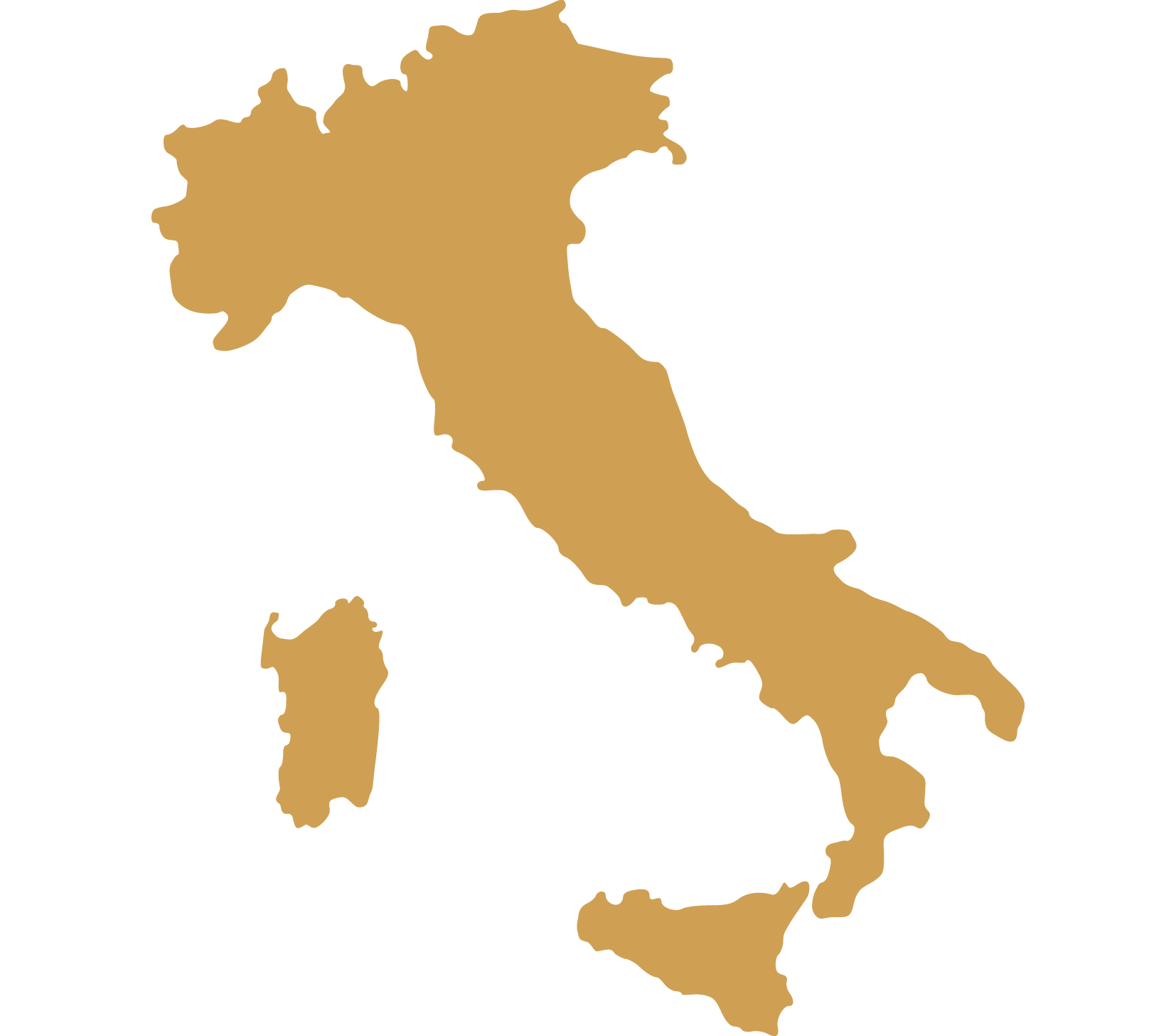 DMC Italy map