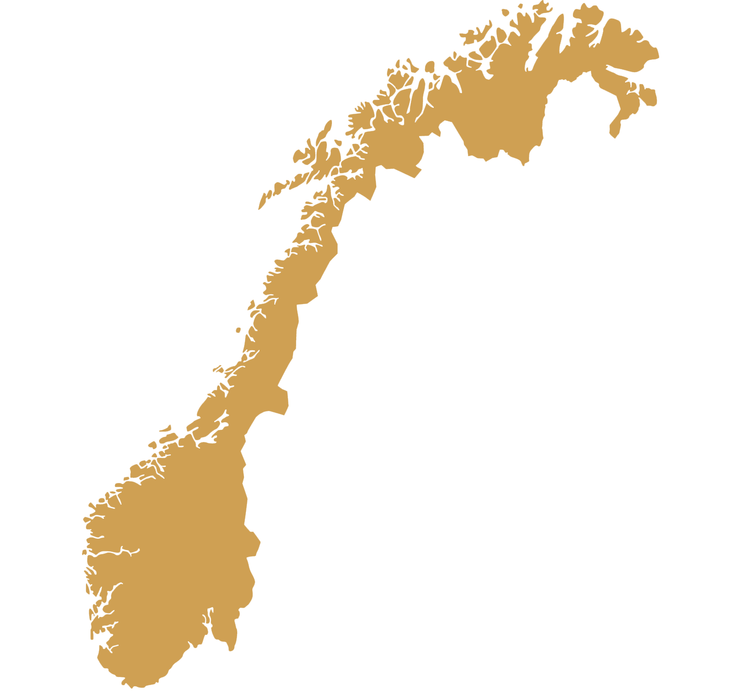 DMC Norway map