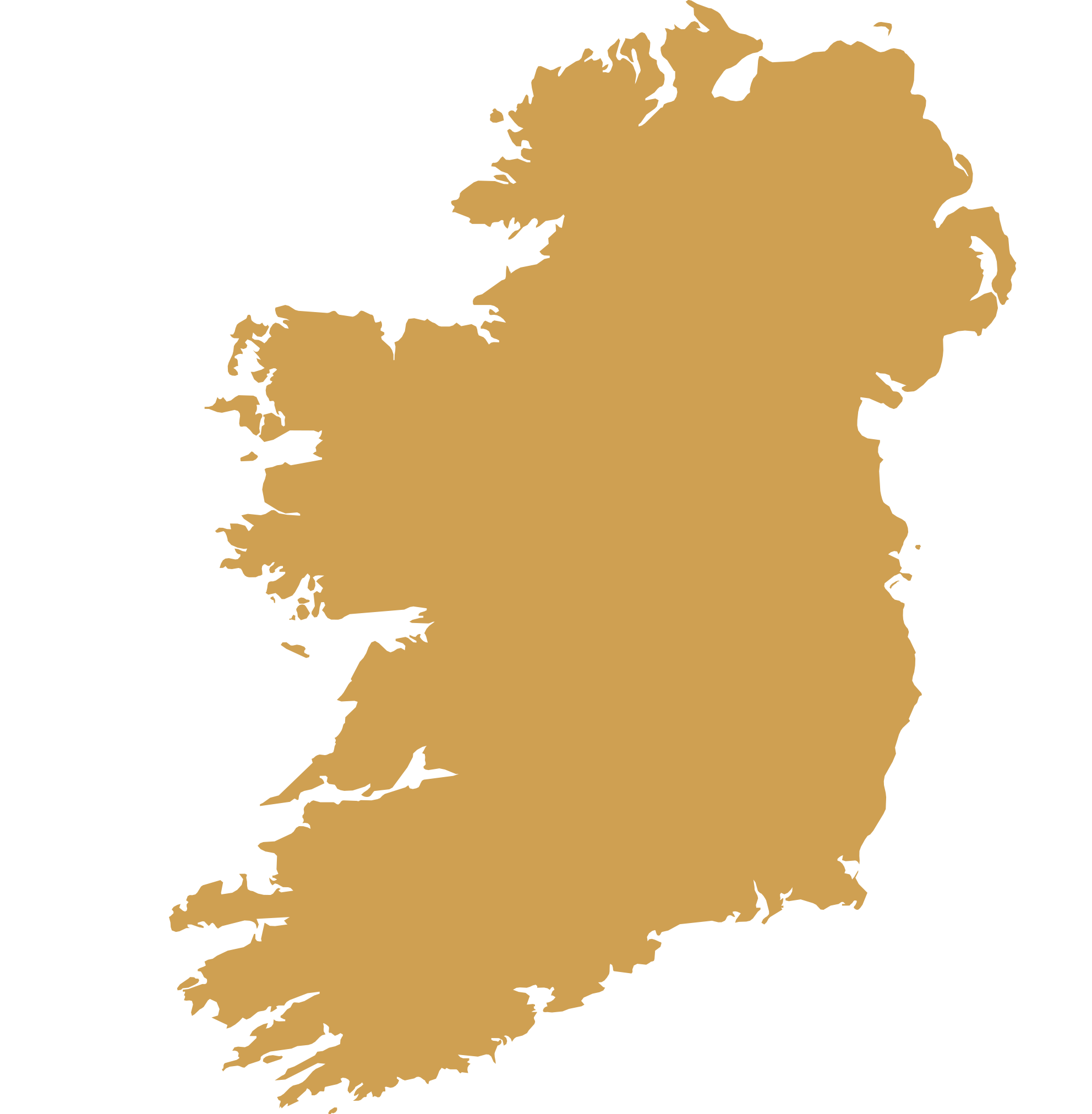 DMC Ireland map