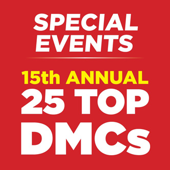 Special Events - 15th Annual 25 Top DMCs